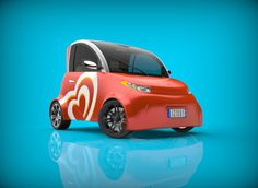 Electric car by Mirko