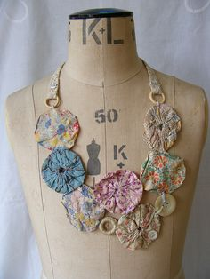 double sided necklace by hens teeth, via Flickr