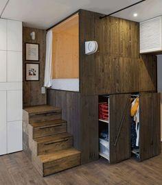 38 Smart Small Apartment Decorating Ideas on A Budget - Page 4 of 38 Small Apartment Design, Small Room Design, Small Apartment Decorating, Tiny House Design, Small Apartments, Small Spaces, Apartment Layout, Studio Apartments, Apartment Interior