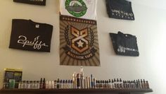 Old vapor wall setup
