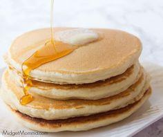 Homemade pancakes - Homemade Pancake Mix with a secret ingredient. This homemade pancake mix will be the last recipe yo - Best Homemade Pancakes, Best Pancake Recipe, Pancake Recipes, Oven Recipes, Bread Recipes, Easy Recipes, Pancakes Recipe Without Baking Powder, Easy Pancake Recipe Without Baking Powder, Pancakes Recipe Without Buttermilk