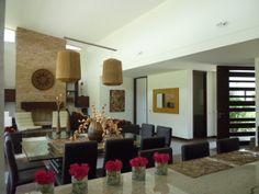 Condominio Toscana, en el valle de Sopó Colombia. Interior zona social, desde la cocina