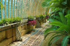 Victorian glasshouse windowboxes and ironwork | Flickr - Photo Sharing!