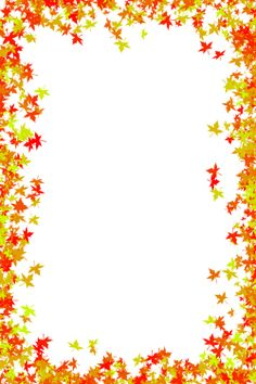 Fall Free Printable Paper Borders - Bing images | Autumn ...