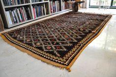 Preciosa alfombra de nudo vintage. Marruecos por SimplyRickshaw