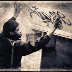 'Choo Choo Charlie' ph. Flint Gennari, graffiti artist and photographer, nyc, 1970s