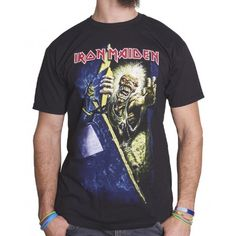 Tricou Iron Maiden: No Prayer - MetalHead Merch Prayers For The Dying, Iron Maiden, Metalhead, Band Tees, Mens Tops, T Shirt, Fashion, Supreme T Shirt, Moda