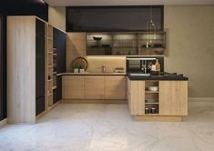 Kitchen Cabinet Design, Modern Kitchen Design, Kitchen Cabinets, New Kitchen, Kitchen Decor, Kitchen Models, Home Kitchens, Sweet Home, House Design