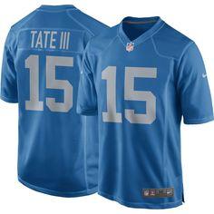 Nike Men's Alternate Game Jersey Detroit Golden Tate #15, Size: Medium, Team