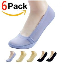 Womens Lace Anti-skid Invisible Liner No Show Peds Low Cut Socks UK 4-7 Size