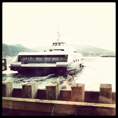 We love the Seabus!  The most scenic public transit in the world.   - From @Blair_Gorrell