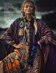 Glamour Italia October 2014 - Olga Maliouk - Signe Vilstrup