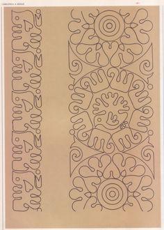 Embroidery Works, Embroidery Motifs, Embroidery Fabric, Embroidery Designs, Alpona Design, Indian Patterns, Leather Pattern, Border Design, Mandala Design