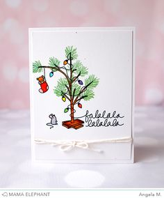O' Tiny Tree is yet another collaboration set between Kryssi and I. She started with the little tree and I went in and added the lig...