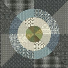 Curious Nature quilt pattern from Free Spirit #sew #diy #patchwork