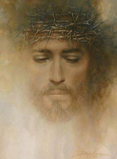 Santo Rostro. ~ Jesus with crown of thorns