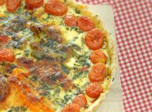 Food e Mag dxb Issue 2 - Spring vegetable recipes -  tomato tart