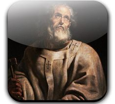 June 29 - Simon Peter or Cephas, the first pope, Prince of the Apostles, and founder, with St. Paul, of the see of Rome.