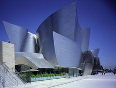 Walt Disney Concert Hall (2003)   Frank Gehry   Photo : Julius Shulman   Knoll Inspiration