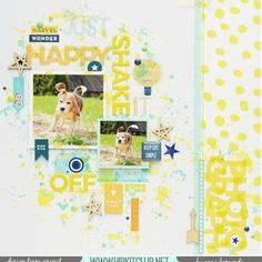 Check out this bright & cheery layout created by @moriony with the goodies…