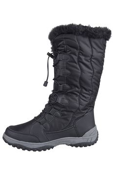 Mountain Warehouse Womens Snowbank Long Snow Winter Boot -- Visit the image link more details.