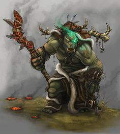 Dnd Orc, Dnd Cleric, Dnd Druid, Character Concept, Character Art, Concept Art, Character Design, Character Ideas, D D Characters