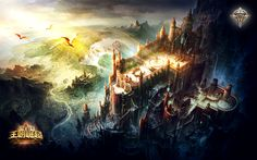 Perfect World fantasy wallpaper | 1920x1200 | 39163 | WallpaperUP