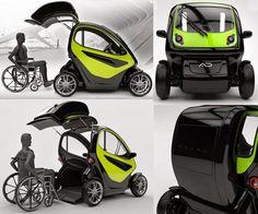 Nice disabled car architecture pinterest triciclos for Sillas de ruedas usadas
