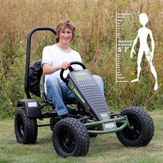 Berg Jeep Wrangler Pedal Go-Kart