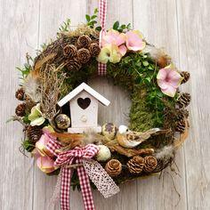 Bunny Crafts, Easter Crafts For Kids, Easter Wreaths, Christmas Wreaths, Diy Osterschmuck, Diy Ostern, Diy Easter Decorations, Diy Door, Diy Wreath