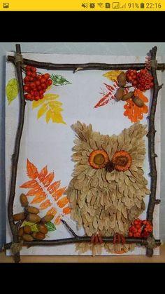 Ideas autumn crafts with kids Autumn Crafts, Autumn Art, Nature Crafts, Crafts For Seniors, Easy Crafts For Kids, Diy For Kids, Animal Art Projects, Leaf Crafts, Pumpkin Crafts