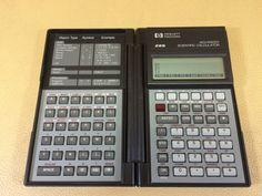 HP Hewlett-Packard Advanced Scientific Calculator 28S W/Fresh Batteries USA made #HewlettPackard