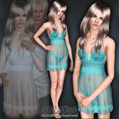 Sims 3 Finds - Lingerie La Perla at Milina Sims