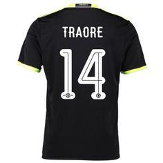 Chelsea 16-17 Bertrand #Traore 14 Bortatröja Kortärmad