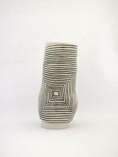 SHIO KUSAKA (lifted 1), 2010  Porcelain  4 3/4 x 5 3/8 x 5 3/8 inches  Courtesy Anton Kern Gallery, New York  (AK# 7818)