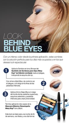 LOOK BEHIND BLUE EYES