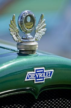 1928 Chevrolet Stake Bed Pickup Hood Ornament Photograph by Jill Reger...Re-Pin brought to you by #ClassicCarInsurance at #HouseofInsurance Eugene Oregon. Ask about agreed value policy(S).
