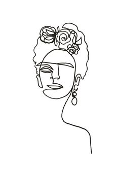 Frida Kahlo als Premium Poster von Julia Hariri JUNIQE als Frida Hariri Julia JUNIQE Kahlo poster Premium von Frida Kahlo als Premium Poster von Julia Hariri JUNIQE als Frida Hariri Julia JUNIQE Kahlo poster Premium von nbsp hellip kahlo Painting Frida Kahlo Tattoos, Frida Kahlo Portraits, Frida Kahlo Prints, Line Drawing, Drawing Sketches, Art Drawings, Frida Paintings, Original Paintings, Frida Kahlo Diego Rivera