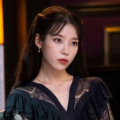 Image may contain: one or more people and closeup Girl Photo Poses, Girl Photos, Korean Actresses, Korean Actors, Kpop Girl Groups, Kpop Girls, Iu Fashion, Fashion Looks, Iu Hair