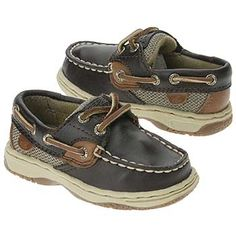0fbf257e8 Sperry Top-Sider Bluefish Boat Shoe Toddler Preschool Chocolate Leather  Sperry Top Sider
