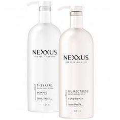 Nexxus Therappe Ultimate Moisture Shampoo plus Nexxus Humectress Ultimate Moisture Conditioner Combo Pack goes beyond moisture to restore nutrients to every strand. Therappe shampoo and Humectress con. Moisturizing Shampoo, Hair Shampoo, Dry Shampoo, Best Slip And Slide, Nexxus Hair Products, Ulta Coupon, Good Shampoo And Conditioner, Hair Powder, Organic Shampoo