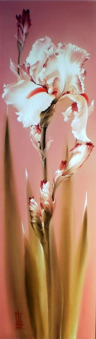 Painting on silk Alina Oseeva - Fair Masters - handmade, handmade