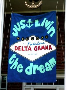 couldn't decide if I wanted this in memories or DG. bid day 2009!