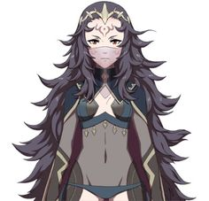 Fire Emblem Cosplay -- Nyx Cosplay Wig Version 01 Fire Emblem Cosplay, Cosplay Wigs, Cosplay Costumes, Cosplay Ideas, Basara, Blue Lion, Fire Emblem Fates, Fire Emblem Awakening, Magic Art