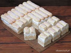 Ciasto leniwiec w 20 minut - Obżarciuch - My WordPress Website Different Cakes, Hungarian Recipes, Polish Recipes, Homemade Cakes, Yummy Cakes, My Favorite Food, Delicious Desserts, Cake Recipes, Bakery