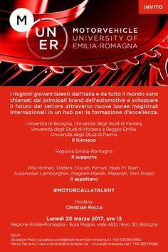 Automotive nasce Motorvehicle University of Emilia-Romagna