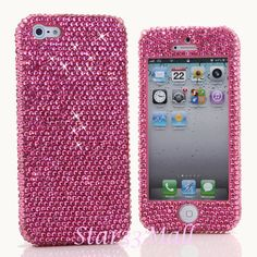 iPhone 5 5S 5C 4/4S Samsung Galaxy S3 S4 case...for your blingy princess. or yourself :)