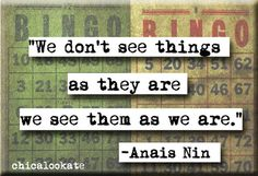 Anais Nin Quote Magnet  and Pocket Mirror