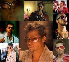 Brad Pitt – Fight Club – Favorite Brad Pitt movie with Legends of the Fall in second