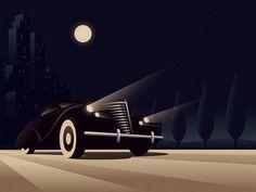 En Voyage by ekster in Art Deco Design Inspiration: Part 1
